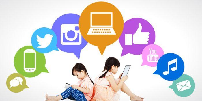 sosial media anak